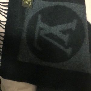 Other - Louis Vuitton men's lambswool and angora scarf.